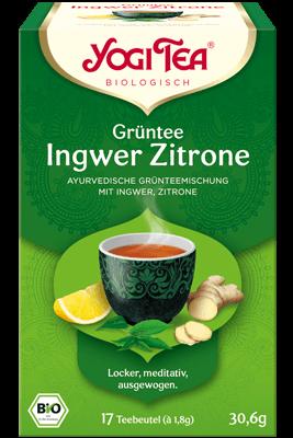 Grüntee Ingwer Zitrone (Yogi Tea)