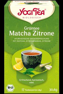 Grüntee Matcha Zitrone (Yogi Tea)