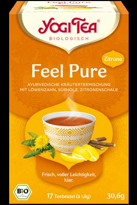 Feel Pure mit Zitrone (Yogi Tea)