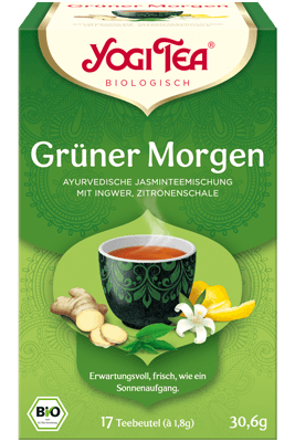 Grüner Morgen (Yogi Tea)